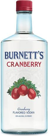 Burnetts Vodka Cranberry
